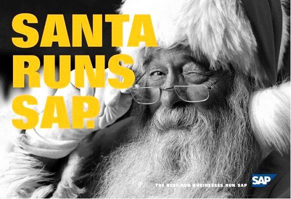 Santa runs SAP